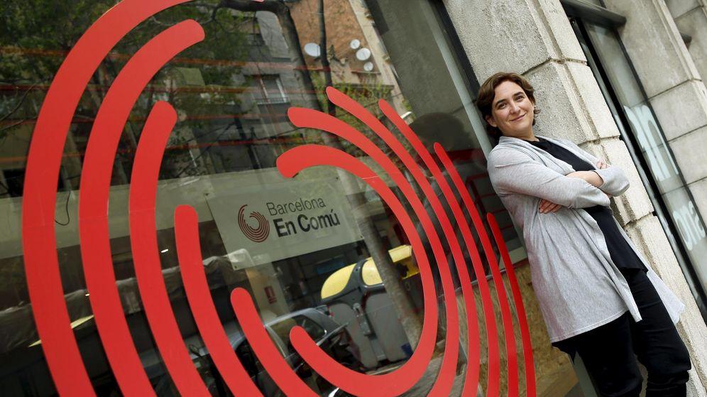 Foto: La ganadora de las elecciones municipales en Barcelona, Ada Colau. (Reuters)