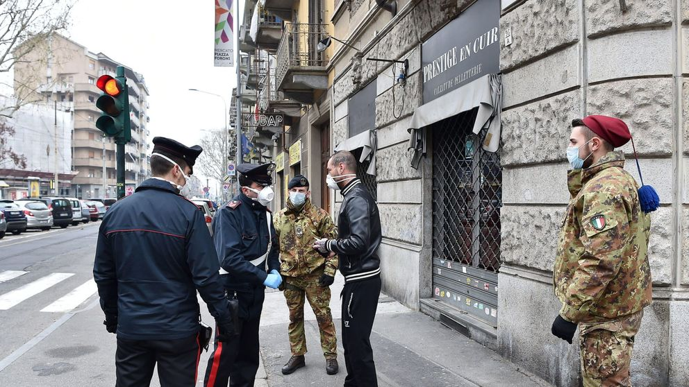 Italia contabiliza 5.476 muertos con coronavirus, 651 más en 24 horas