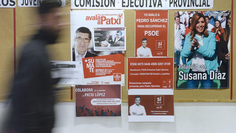 Díaz logra el 42% de sus avales en Andalucía y Sánchez arrasa en Cataluña y Valencia