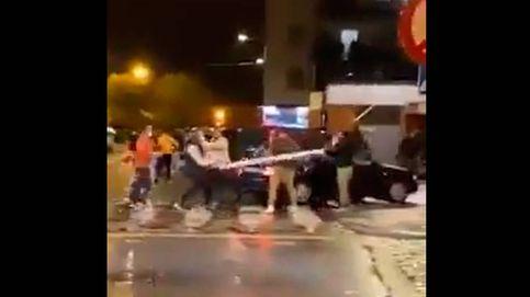Batalla campal por la propiedad de un supermercado de Girona