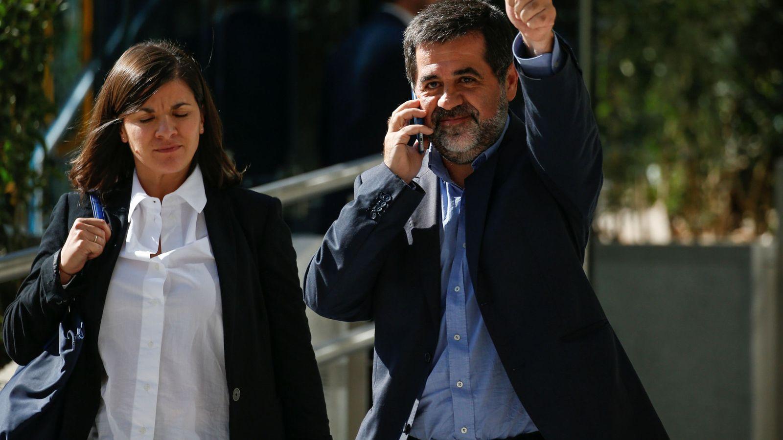 Foto: Jordi Sànchez en una imagen de octubre de 2017. (Reuters)