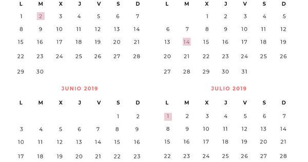 Aeat Calendario Fiscal 2020.Renta 2018 2019 Calendario De La Declaracion De La Renta