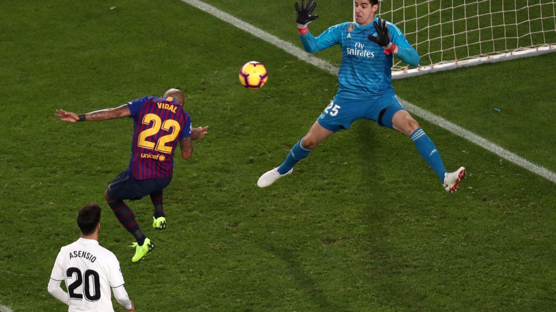 El gol de Arturo Vidal. (Reuters)
