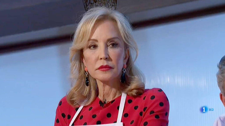 Carmen Lomana en 'MasterChef Celebrity'. (RTVE)