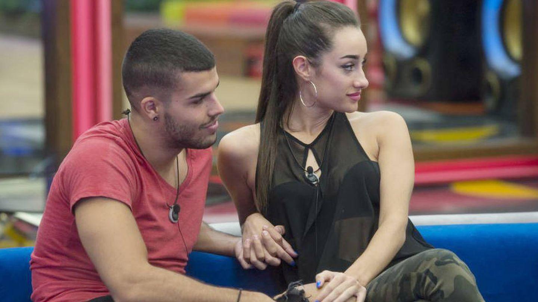 Pol y Adara en 'GH 17'. (Mediaset España)
