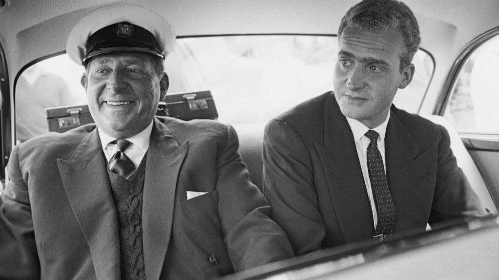 Foto: Don Juan Carlos en la década de los 60. (Getty)