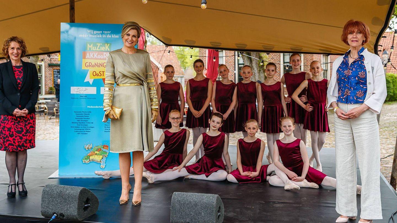La reina Máxima, este lunes en Groningen. (Casa Real de los Países Bajos)