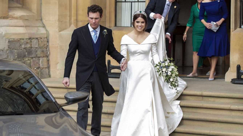 Estas son las fotos inéditas del segundo vestidazo de novia de Eugenia de York