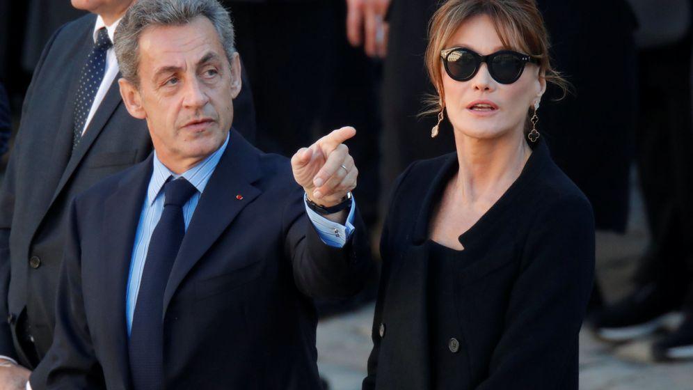 Foto: El expresidente francés Nicolás Sarkozy y su mujer, Carla Bruni. (Reuters)