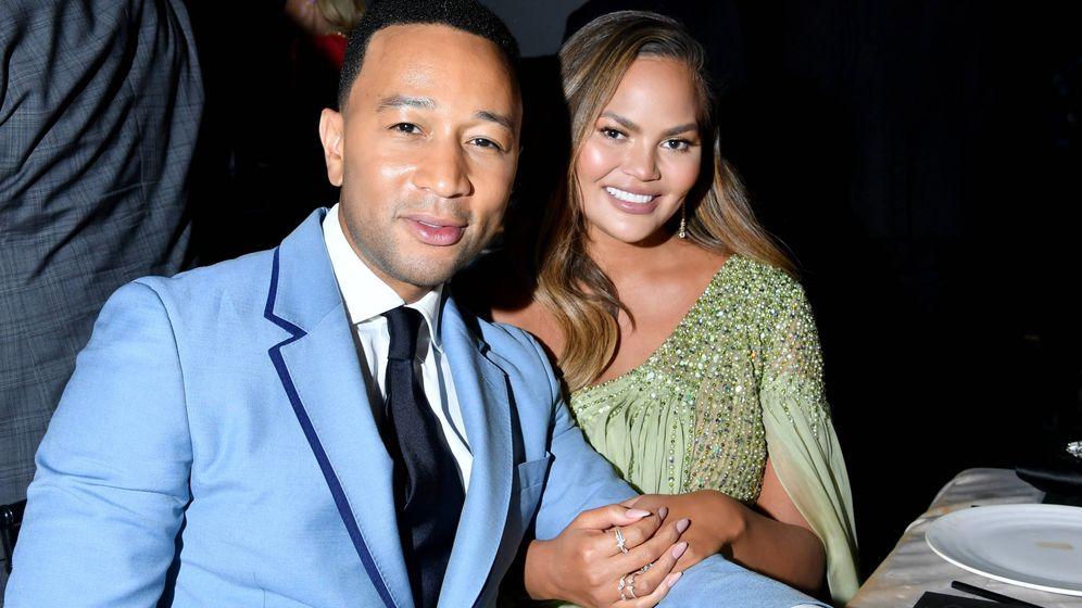 Foto:  John Legend y Chrissy Teigen. (Getty)