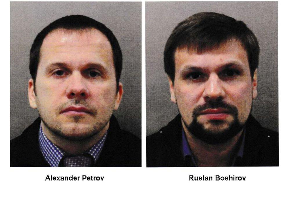 Foto: Alexander Petrov y Ruslan Boshirov, los dos rusos identificados por Scotland Yard.