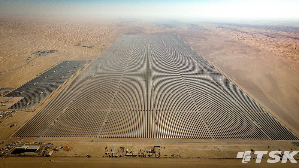 Foto: La planta recién instalada tiene la extensión equivalente a 700 campos de fútbol.