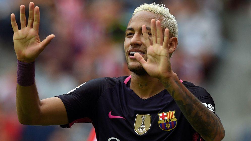 Foto: El jugador del Barcelona, Neymar. (Reuters)