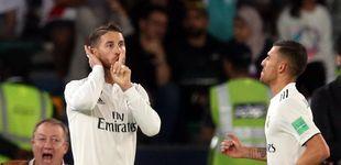 Post de Sergio Ramos se ríe de los pitos de la grada y abraza a Isco porque es el capitán