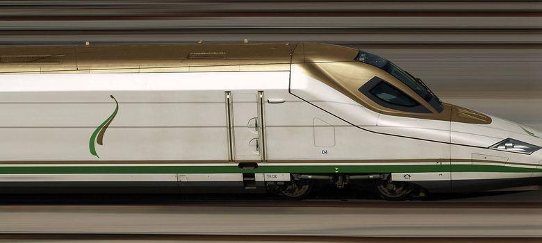 Foto: Tren de alta velocidad similar al que un consorcio español, liderado por Renfe, Adif y Talgo, entre otras compañías, construirá entre Medina y La Meca. (EFE)