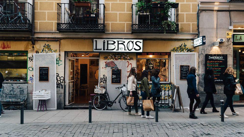 Foto: Librería en el barrio madrileño de Malasaña. (iStock)