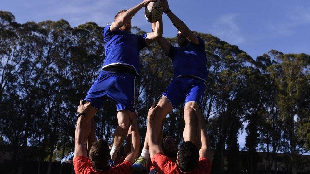 La Real se pasa al rugby y la donostiarra playa de La Concha, también