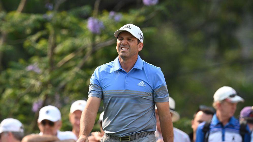 Foto: Sergio García, a finales de año en el Open de Australia. (EFE)