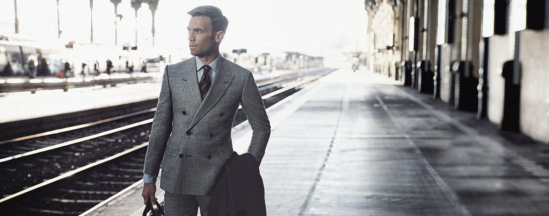 Foto: Imagen de la campaña otoño-invierno 2015 de la firma de trajes Kingsman para MrPorter