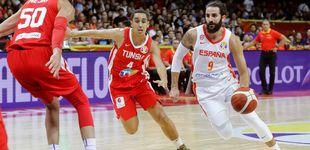 Post de España reacciona al susto de Túnez y arrasa en su debut en el Mundial