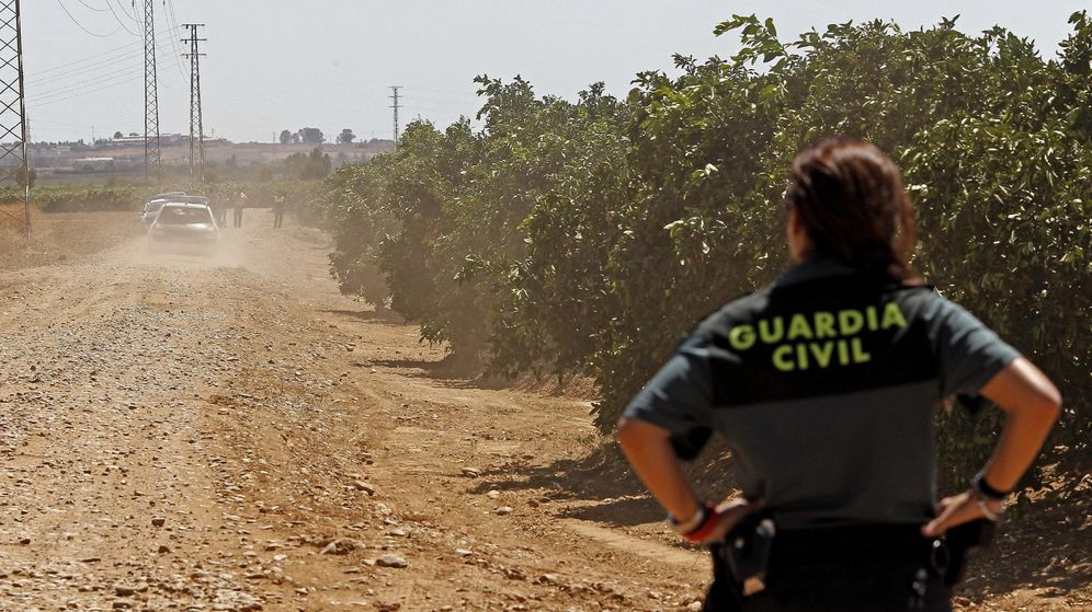 Foto: Una agente de la Guardia Civil. (EFE)