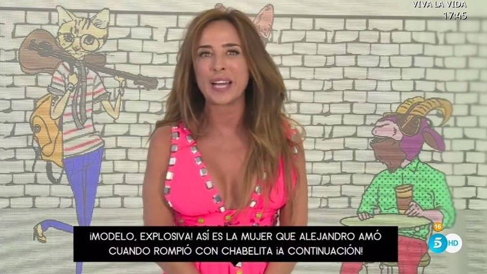 María Patiño se estrena en 'Socialité' con un aluvión de fallos técnicos