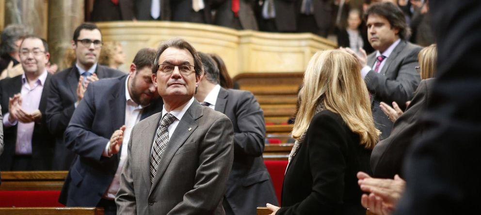 Foto: Artur Mas tras la votación en el Parlamento (Reuters)