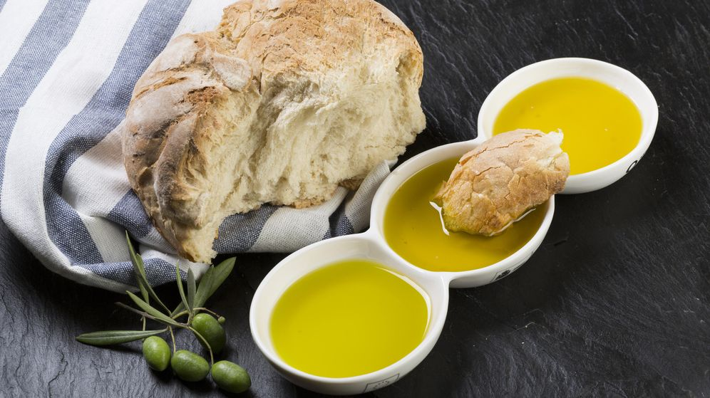Foto: Aceite y pan, el maridaje perfecto