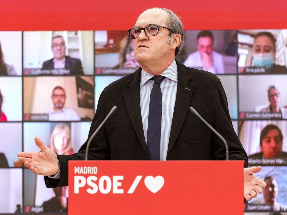 Foto: El candidato a la Presidencia de la Comunidad de Madrid, Ángel Gabilondo. (EFE)