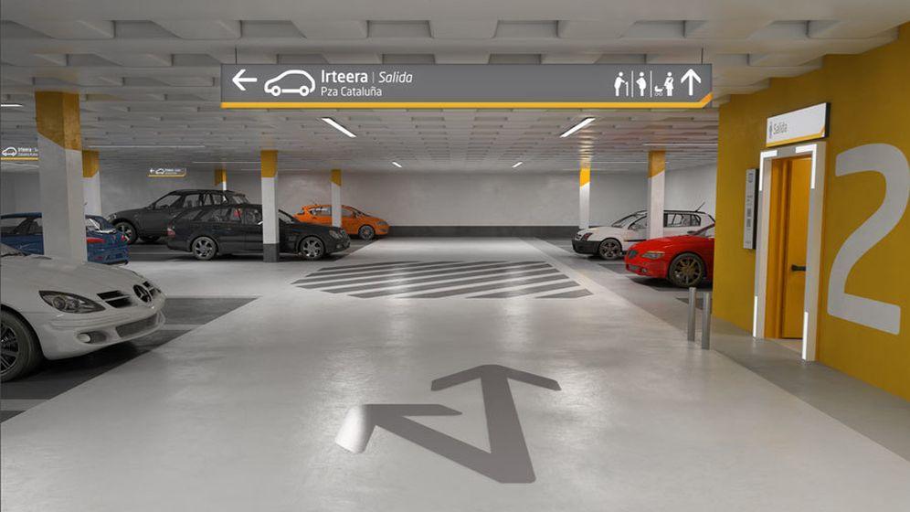 Foto: Un aparcamiento de Empark.