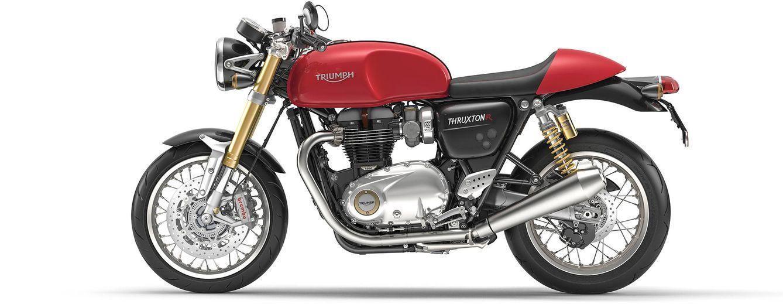Foto: Imagen de la Triumph Thruxton R, sinónimo de presencia y potencia.