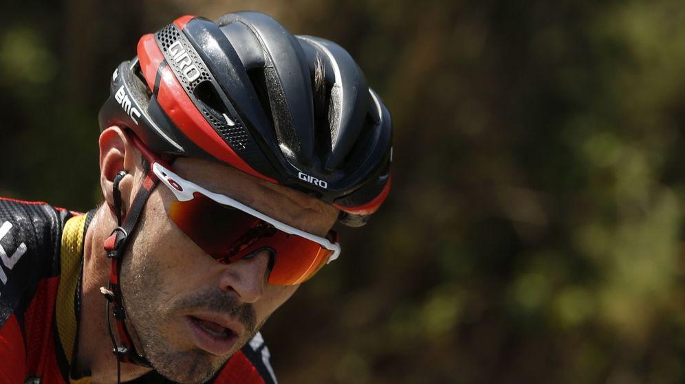 Foto: Samuel Sánchez durante La Vuelta de 2016. (EFE)