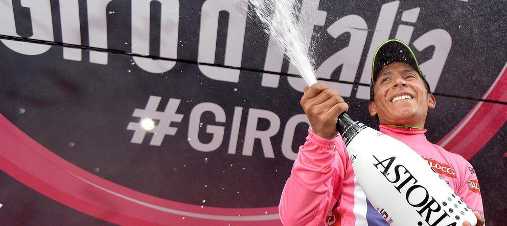 Foto: Nairo Quintana tiene a tiro ganar su primer Giro de Italia.