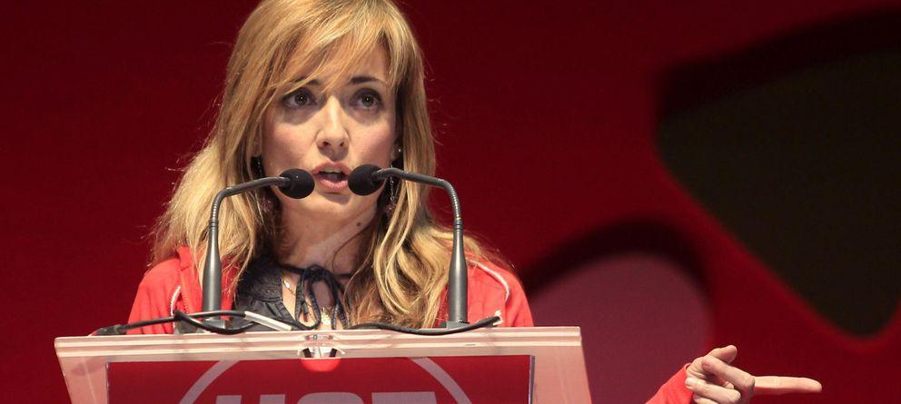 Foto: La secretaria general de UGT-Andalucía, Carmen Castilla. (EFE)
