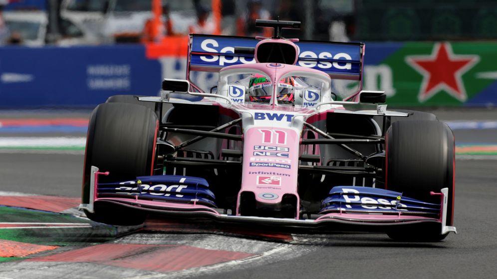Foto: Checo Pérez durante el Gran Premio de México. (Reuters)