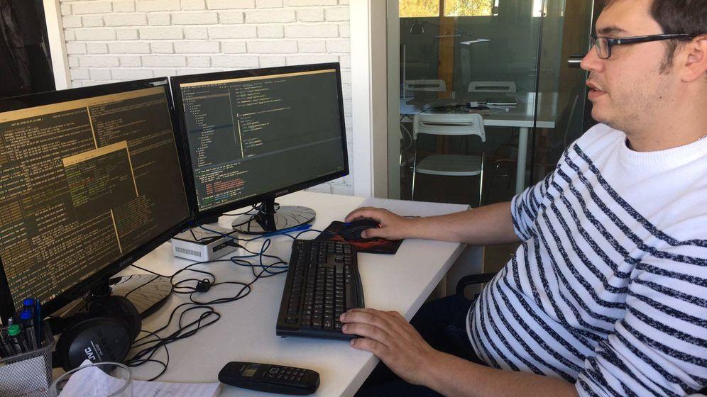 Foto: José Manuel Gallego, desarrollador 'backend' en Kubide. (Fuente: cortesía de José Manuel Gallego)