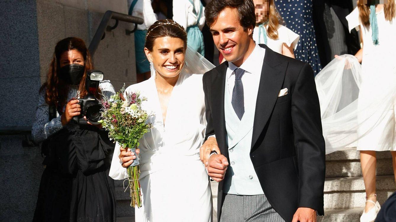 Mónica Aznar Oriol y Fadrique Balmaseda: así se han casado en Madrid