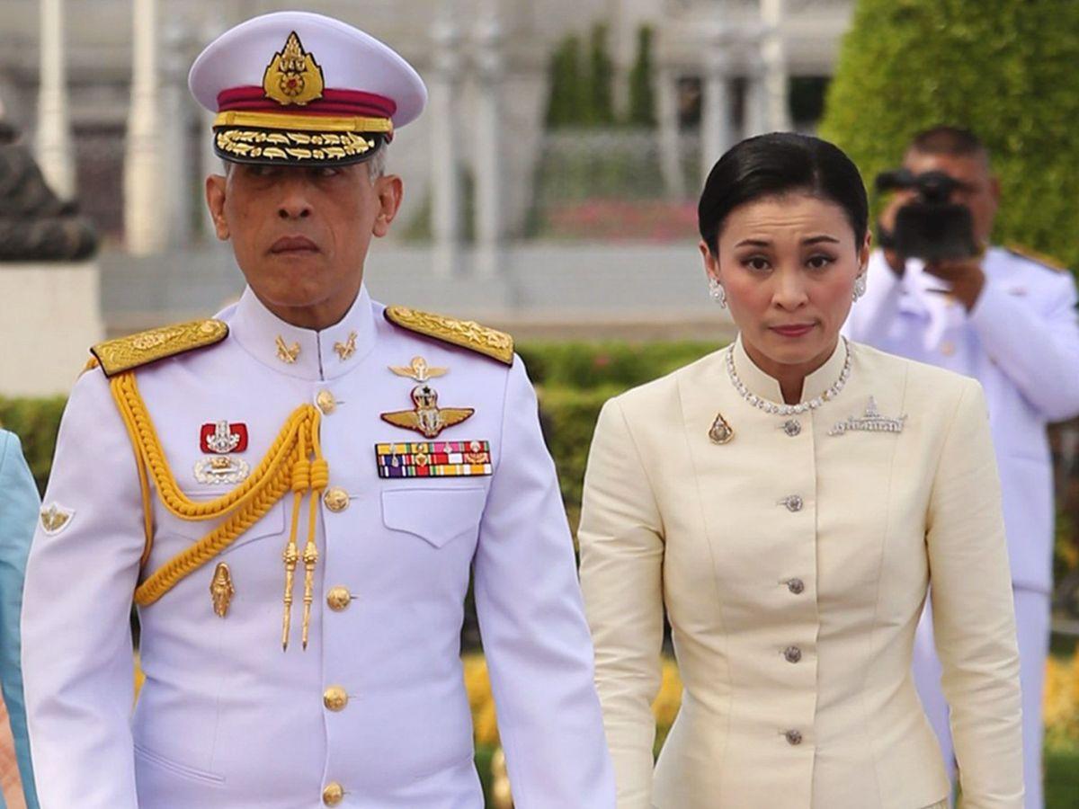 Foto: El rey de Tailandia, con su mujer. (EFE)