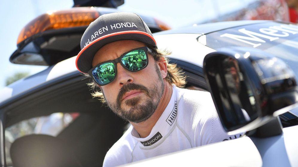 Foto: Fernando Alonso en el GP de Hungría. (EFE)