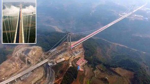 Un drone graba por primera vez el Longjiang Bride, el puente más largo del mundo