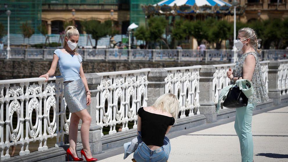 Euskadi descarta al turista extranjero en la campaña estival y se une a la 'marca España'