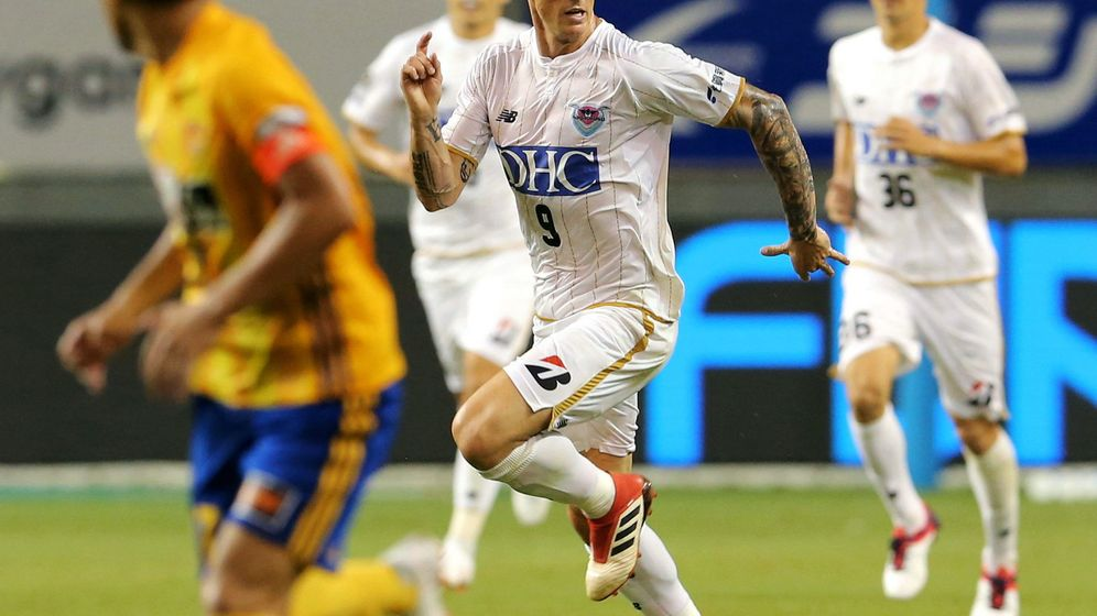 Foto: Fernando Torres no pudo debutar con victoria en el Sagan Tosu. (EFE)