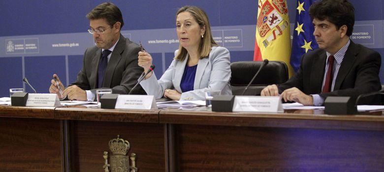 Foto: Ana Pastor, ministra de Fomento