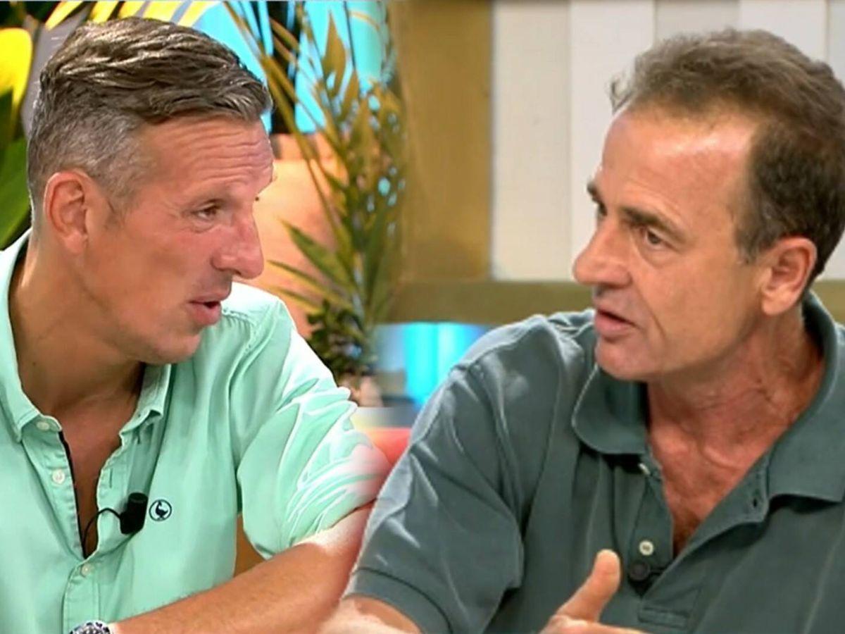 Foto: Joaquín Prat y Alessandro Lequio en 'El programa del verano. (Telecinco)
