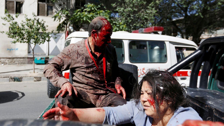 Foto: El atentado suicida en Kabul, en imágenes