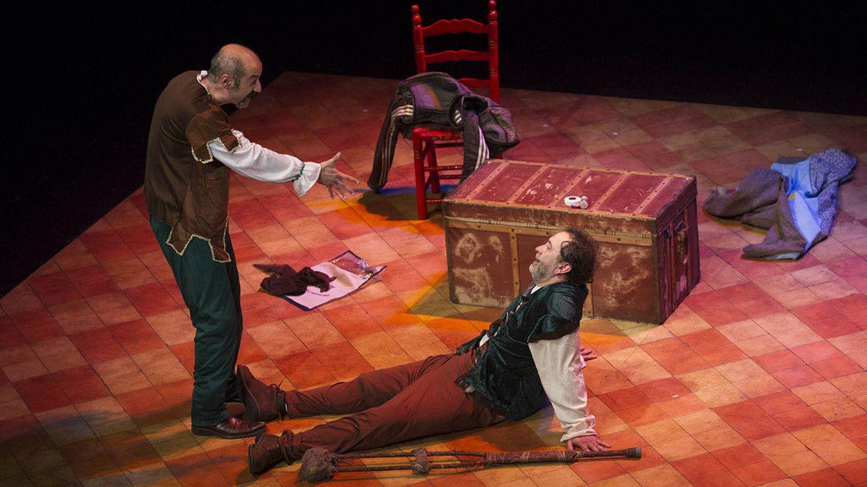 'Rinconete y Cortadillo' en su estreno en el Teatro Echegaray de Málaga (Daniel Pérez)