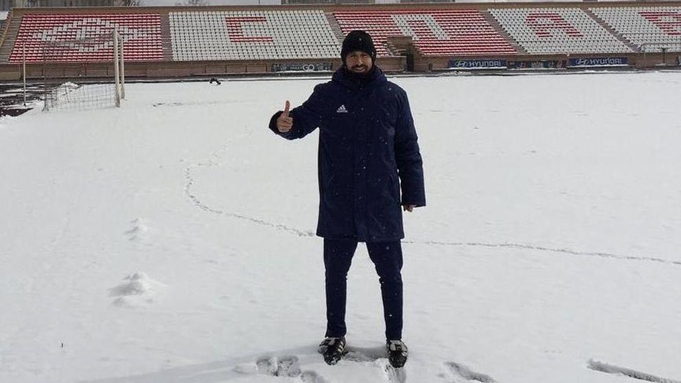 La aventura de un español en busca de 'Messis' entre 100 futbolistas kazajos
