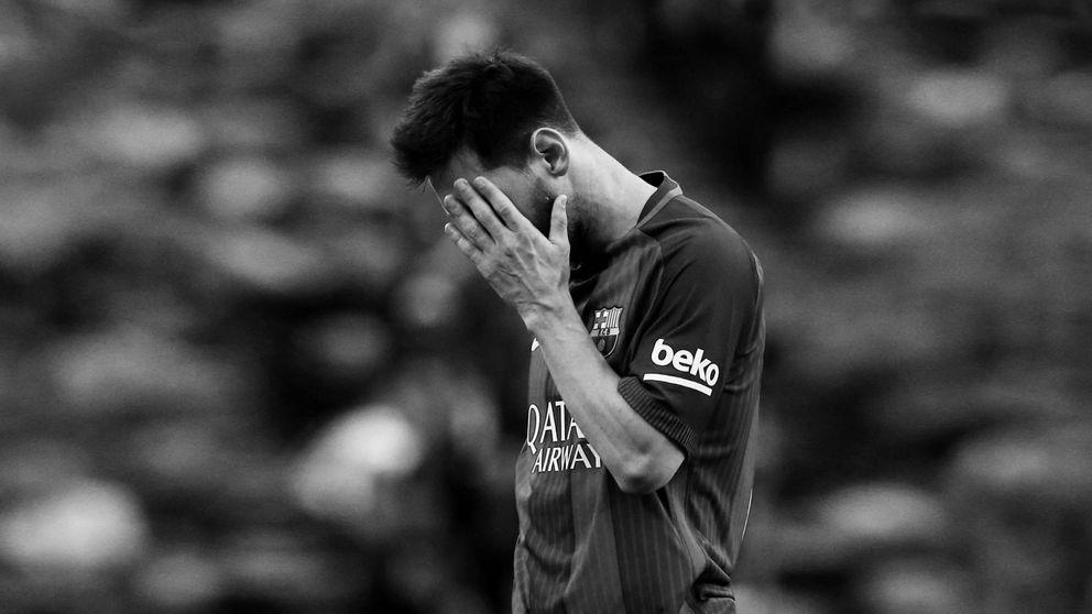 Messi, un fantasma empresarial se pasea por Cataluña
