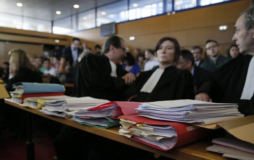 Foto: Abogados en un tribunal en Bobigny, Francia, en mayo de 2016. (Reuters)