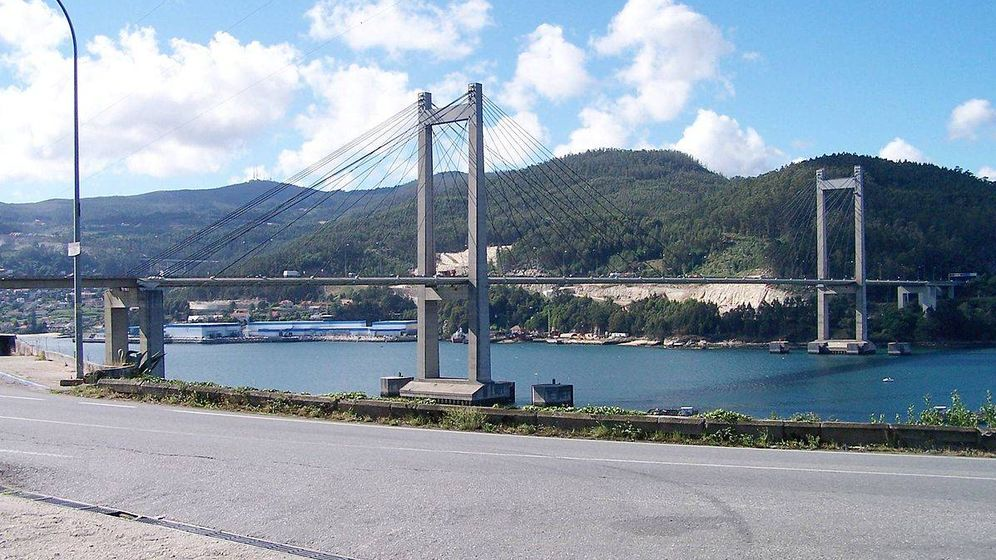 Foto: Imagen del puente de Rande en Vigo. (Wikipedia)